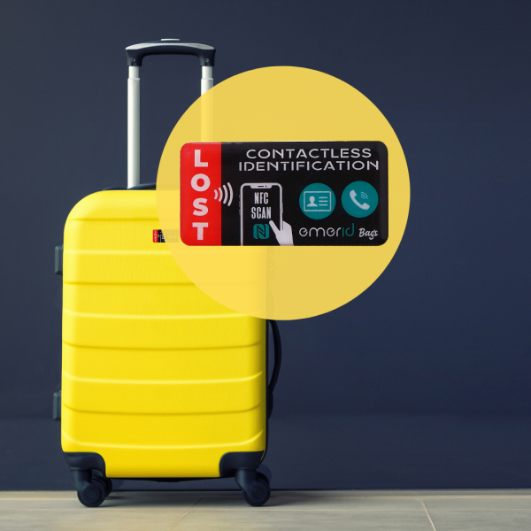emerid bags yellow luggage