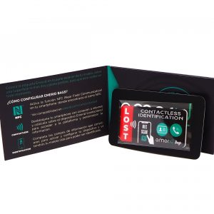 Packacking Emerid Bags Identificator contactless maletas