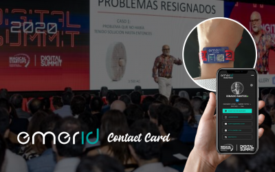 Release of Emerid Contact Card In Digital Summit 2020 (Chile)