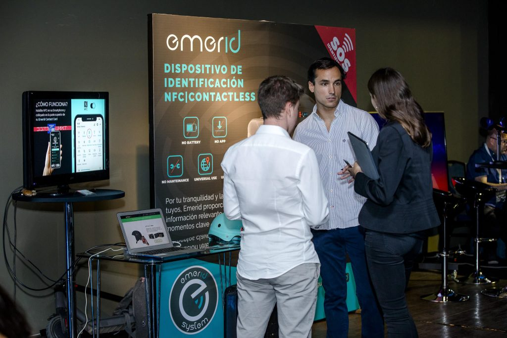 Stand Emerid System Digital Summit 2020 Santiago Chile