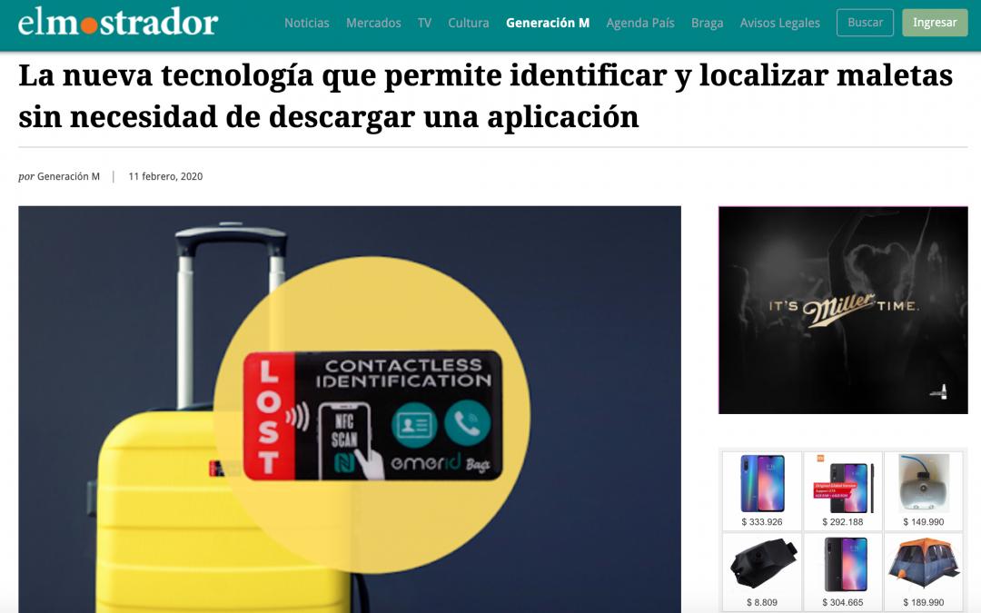 Medios de comunicación chilenos se hacen eco de Emerid Bags